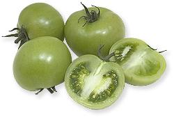 syltede grønne cherrytomater